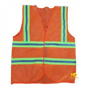 áo phản quang 3m màu cam