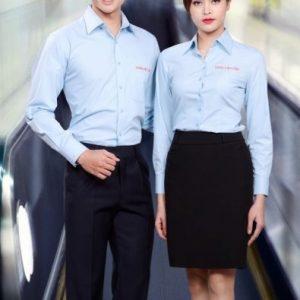 Đồng phục văn phòng (05) Chúng tôi may, thiết kế đồng phục theo yêu cầu của khách hàng, tư vấn miễn phí. Giao hàng tận nơi với số lượng lớn.