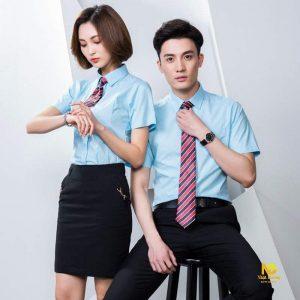 Đồng phục văn phòng (03) Chúng tôi may, thiết kế đồng phục theo yêu cầu của khách hàng, tư vấn miễn phí, giao hàng tận nơi với số lượng lớn.