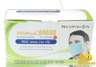 Khẩu trang DM03-NW được ứng dụng trong môi trường có mức ô nhiễmvừa phải . Môi trường y tế. Môi trường công nghiệp. Phòng mạch, nha sĩ.....