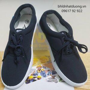 Giày bata vải XP cột dây xanh