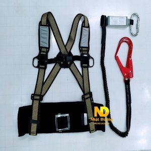 dây đai an toàn bán thân 1 móc nhôm