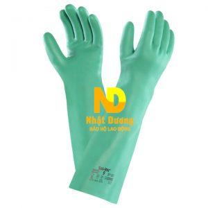 Găng tay chống hóa chất Ansell Solvex 37-185