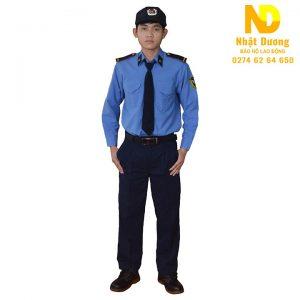 Đồng phục bảo vệ dài tay DT01