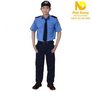 Đồng phục bảo vệ ngắn tay NT01