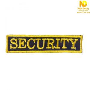 Logo bảo vệ trước ngực