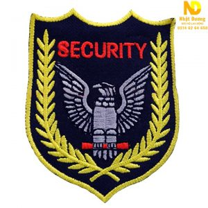 Logo bảo vệ trên cánh tay